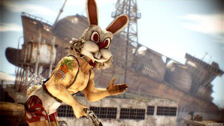 疯狂动物城 兔子 跑步