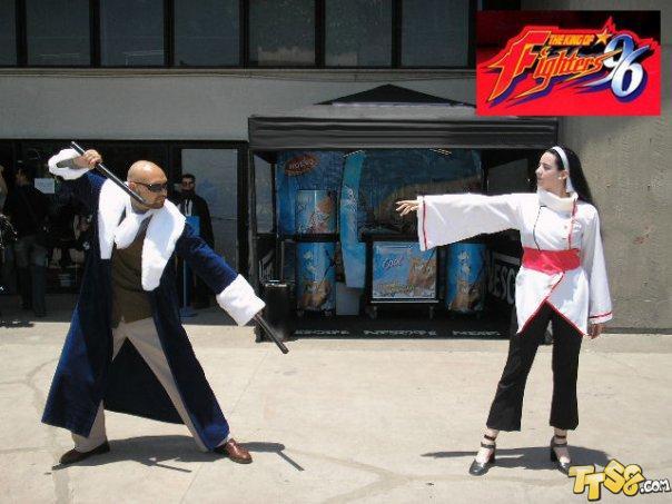 拳皇15周年庆典 各路美女cosplay性感齐亮相