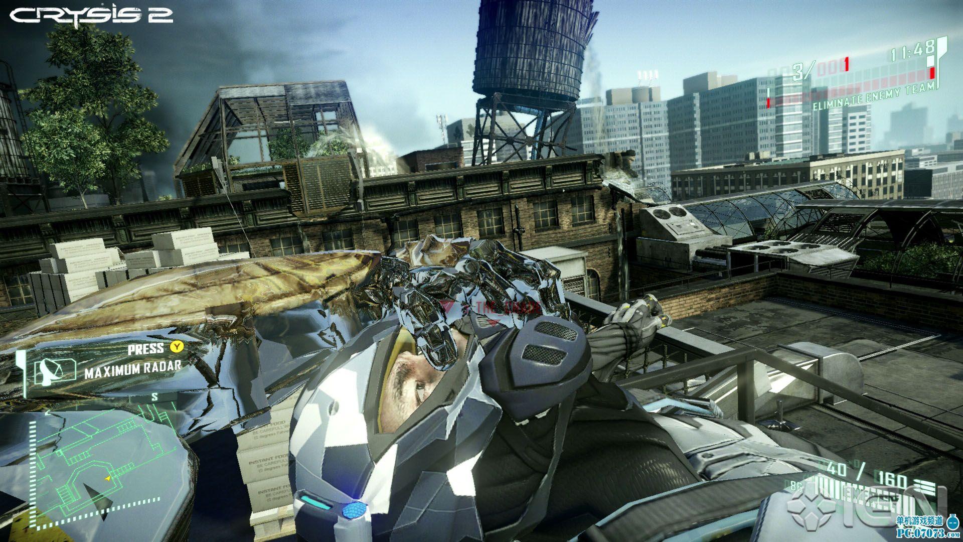 ign评《孤岛危机2》多人游戏:超级英雄沙盒!