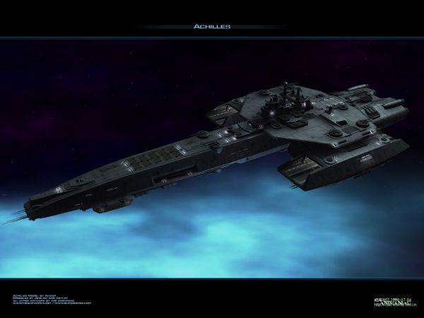 游戏中星际战舰图鉴收录图片