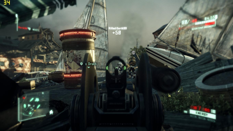 《孤岛危机2》联机模式实际截图放出