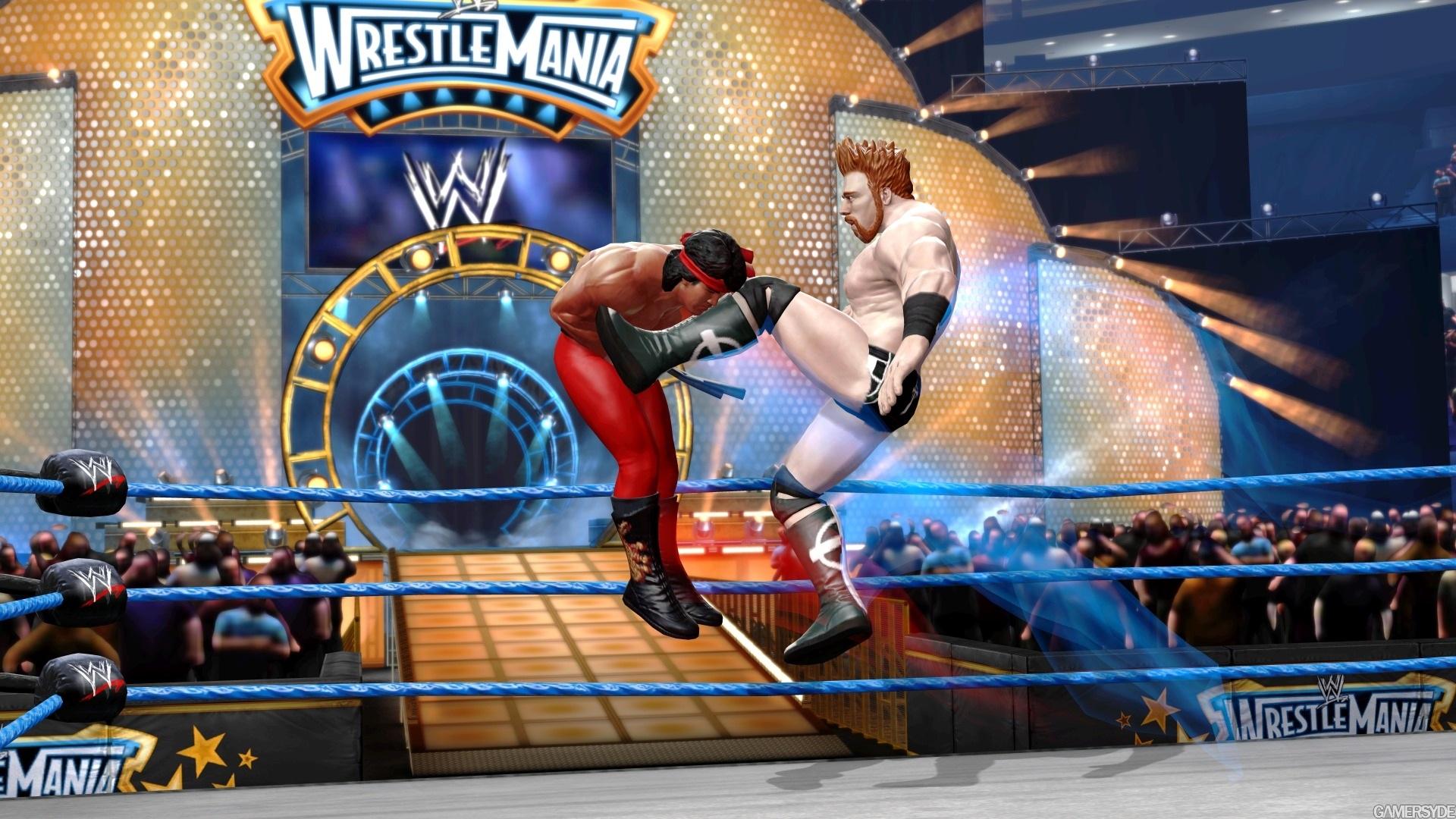 火爆摔跤游戏 WWE All Stars 超大高清无水印壁纸