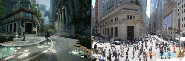 《孤岛危机2》现实与游戏场景照片对比