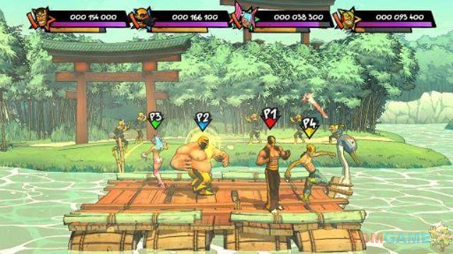 2d横版过关游戏《lucha