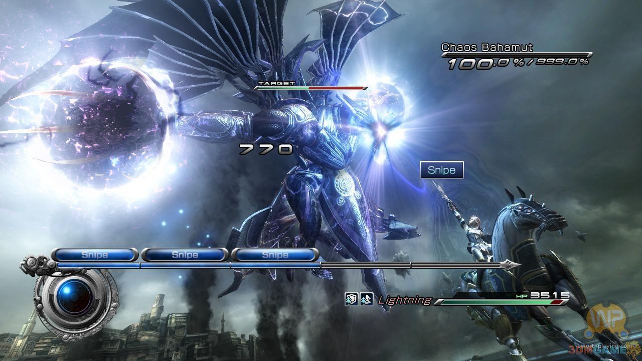 《最终幻想13-2》放出最新游戏截图