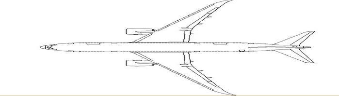 飞机制作简单图文教程  第 2 页 第二页 用座位来决定机翼的位置,这里