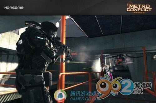 近未来战斗风格FPS网游《都会特攻》曝光