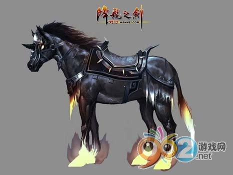 """图片: 图片8:《降龙之剑》""""义海情天""""-名驹乌骓马s.jpg"""