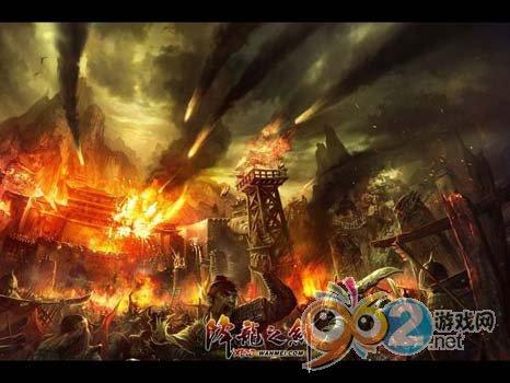 """图片: 图片1:《降龙之剑》""""义海情天""""-只有烽烟四起的战场才能体现出兄弟之间的情义.jpg"""