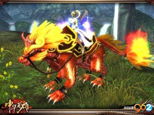 酷劲的烈焰灵兽,参加活动就可免费永久获得!
